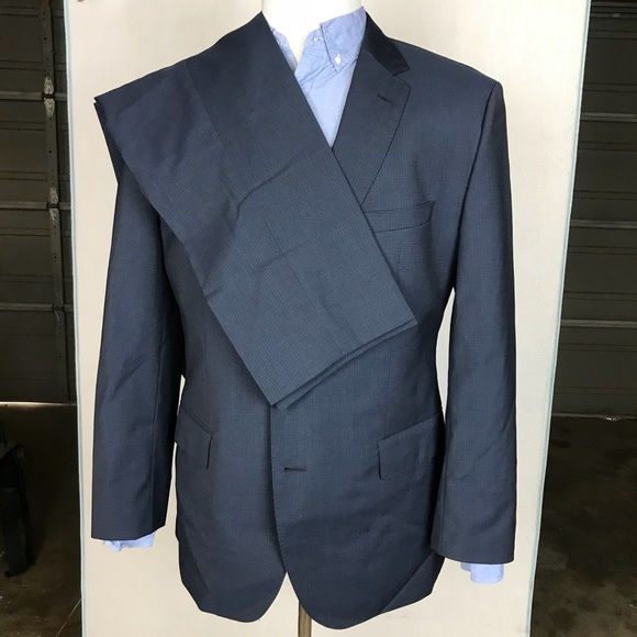 aa59034b3 Hugo Boss Suits & Blazers | Johnstons Lenon Navy Suit 44r 3429 ...